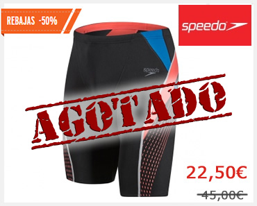 SPEEDO Jammer Hombre BLACK/BLUE/RED