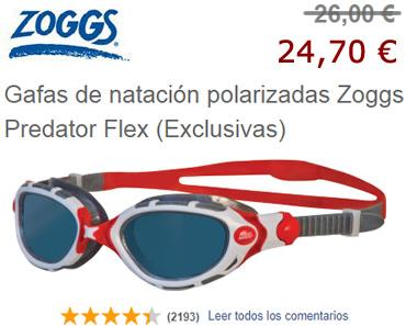 Gafas polarizadas Zoggs Predator Flex